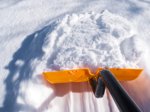 Tips for Shoveling Snow
