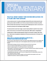 Practical MM Fund Reform Implications